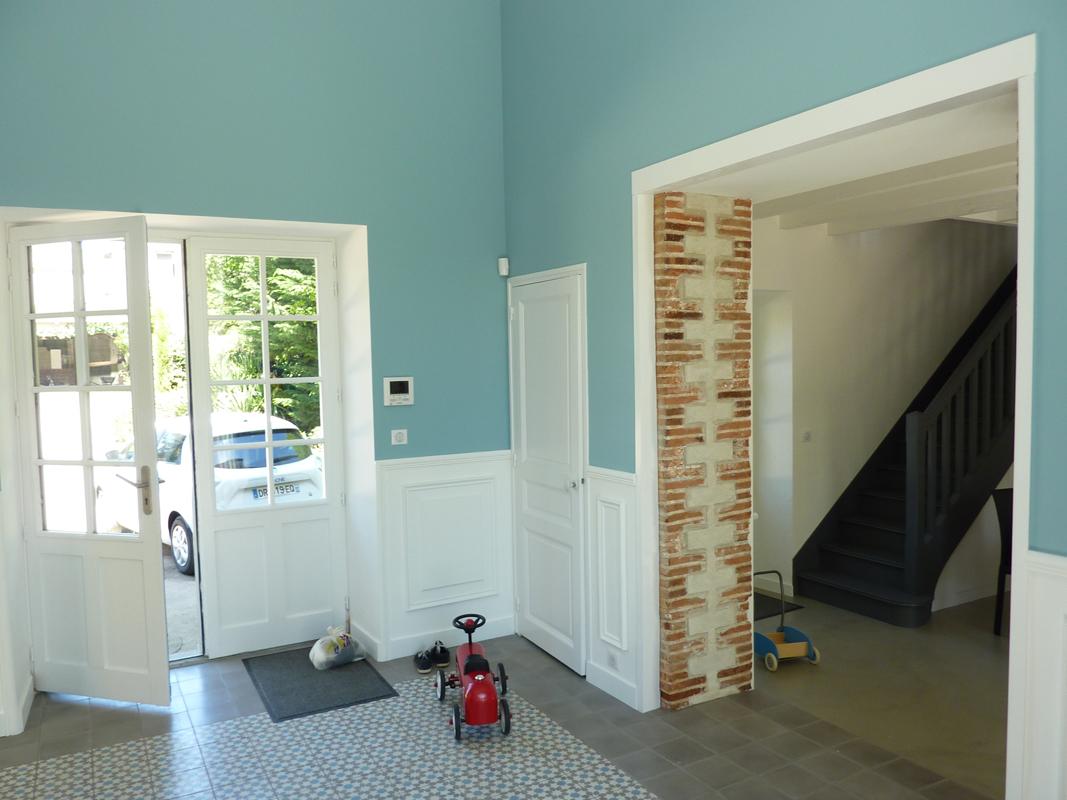 R novation d 39 une demeure historique clisson 44 for Architecture interieure contemporaine