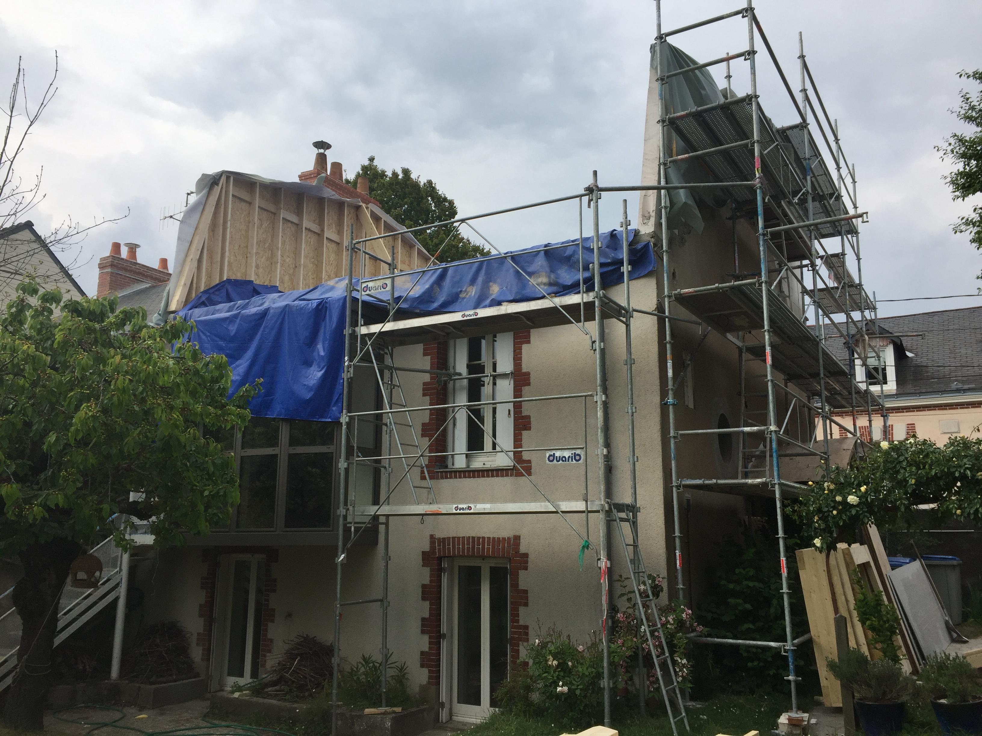Rénovation maison ancienne à Nantes