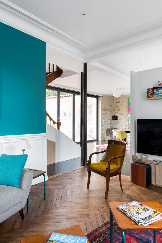 r novation int rieure d 39 une maison ancienne clisson 44 architecte nantes lr architecture. Black Bedroom Furniture Sets. Home Design Ideas