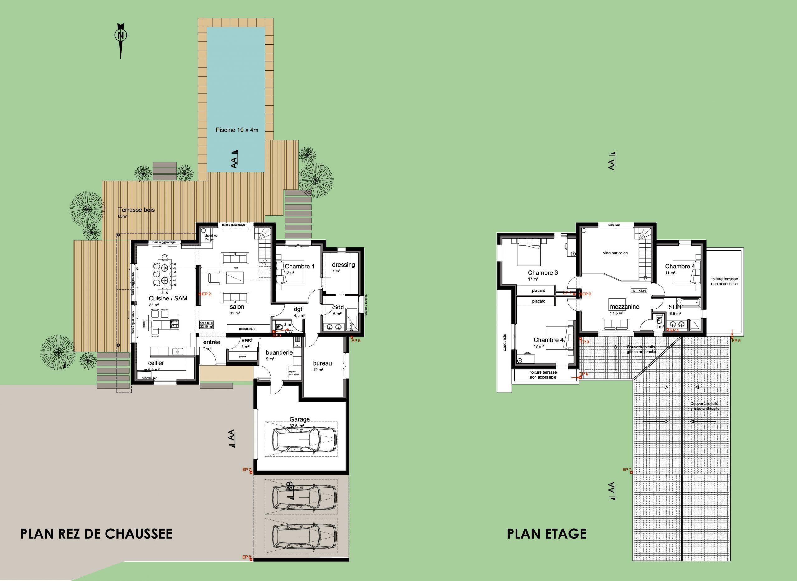 plan-maison-basse-goulaine