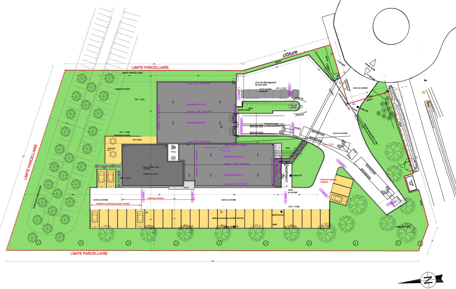 Architecte extension bureau Nantes