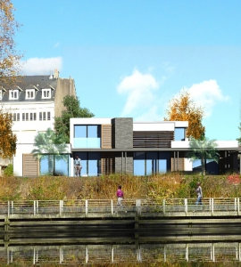 Architecte nantes lr architecture habitat commerces for Construction maison 3d nantes