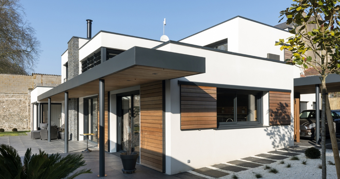 Architecte Nantes Maison contemporaine