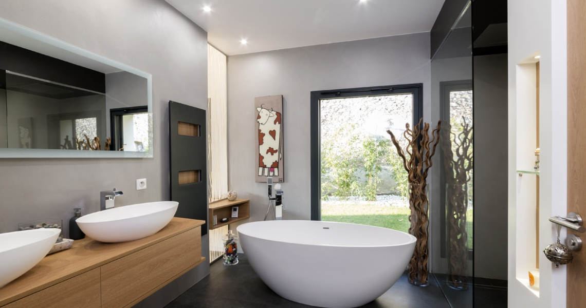 salle de bain design Nantes