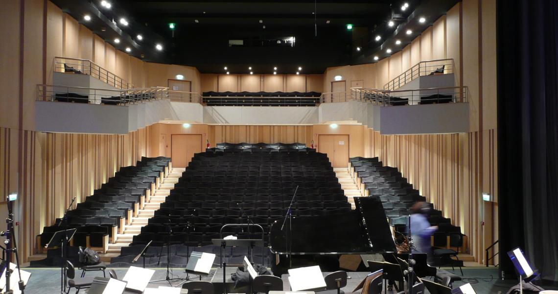 L'auditorium de musique