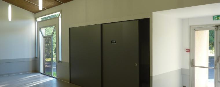 panneaux coulissants pour stockage