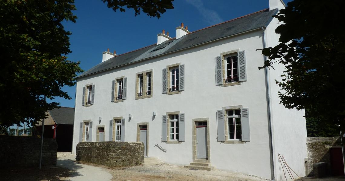 Ancienne école rénovée
