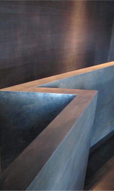 Garde corps de l'escalier