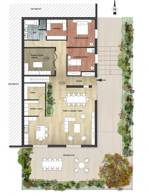 amenagement d 39 un loft nantes 44 architecte nantes lr architecture habitat commerce bureau. Black Bedroom Furniture Sets. Home Design Ideas
